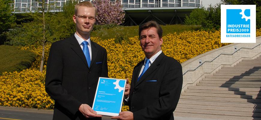 Industriepreis 2009 für Knick'n'clean