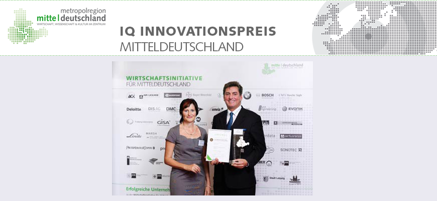 Knick'n'clean gewinnt IQ Innovationspreis 2010 in der Kategorie Ernährungswirtschaft
